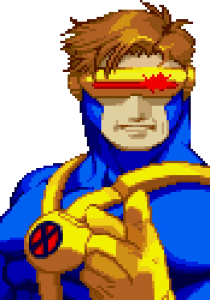 Cyclops Sounds: X-Men vs  Street Fighter - 101soundboards com