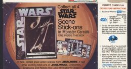 Count Chocula- Free Star Wars Stickers Advert Music