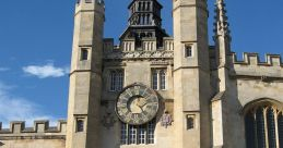 Christ'S College Clock, Cambridge Soundboard