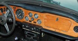 Triumph Tr6 Sports Car, 1971 (Interior) Soundboard