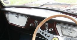 Motor Car: 1960 Ford Anglia (Interior) Soundboard