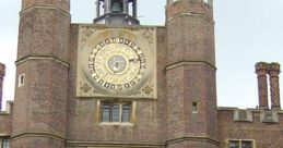 Anne Boleyn's Clock, Hampton Court Soundboard