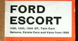 Motor Car: Ford Ecsort 1300 (Manual) (Interior) Soundboard