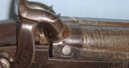 17-Bore Twin-Barrel Shotgun, 1870 Soundboard