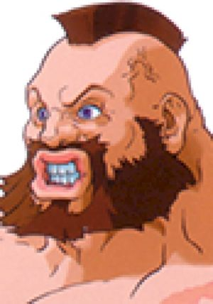 10 - Zangief Sounds: Street Fighter EX