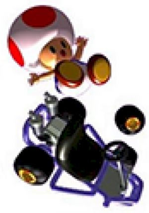 Toad Sounds: Mario Kart 64