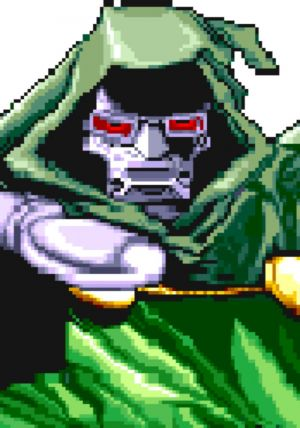 Dr. Doom Sounds: Marvel Super Heroes