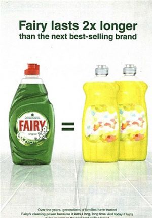 Fairy Liquid Advert Music